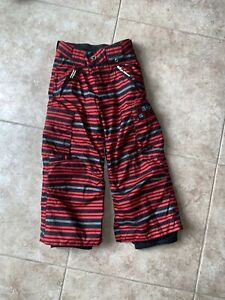 BURTON DRYRIDE Snowboard Snow pants kids youth boys x-small US 3/4