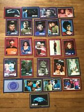 Lot 24 Star Trek 1991 Impel Collector Cards Anniversary Edition