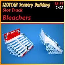 Slotcar Scenery Building Trackside Bleachers for scalextric, carrera tracks
