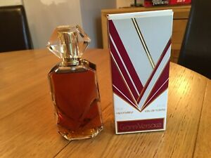 Vintage Early 1980s Original Classic Gianni Versace for Women 125ml. 4oz. EDT