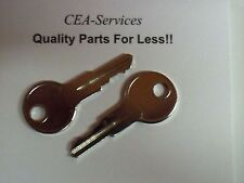 (2) Keys Fit JLG Lifts (Old) Terramite T5C Early #17 D4