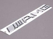 AMG Chrome 3D Vehicle Emblem Decal Sticker Mercedes Benz Vehicle Logo