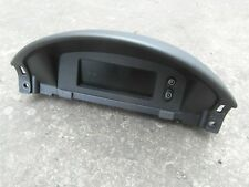 VAUXHALL CORSA C LCD DISPLAY / CLOCK AND HOUSING 2000-2006 radio, temp, time