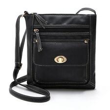 Fashion Women Leather Portable Satchel Crossbody Bag Shoulder Messenger Bag Gift