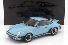 MINICHAMPS 1977 Porsche 911 Turbo Gulf Blue 1:12 Large Car*Brand New*SUPER NICE!