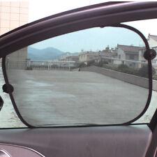 2 x Black Sun Shade Shield Visor Protection Side Car Window Shade Brand New