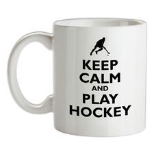 Keep Calm And Giocare Hockey - Ceramica Mug Campo Erba SPORTS Squadra Regalo