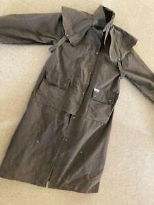 Morrison Euroa waterproof oilskin outdoor all weather drizabone type coat