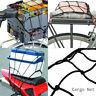 30x30CM Motorcycle Accessories Bike 6 Hooks Mesh Bungee Cargo Net Helmet Net AU