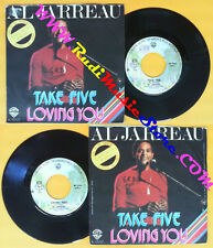 LP 45 7'' AL JARREAU Take five Loving you 1977 italy WARNER W 17037 no cd mc dvd