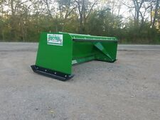 6' Low Pro Pullback John Deere quick attach snow pusher box FREE SHIPPING