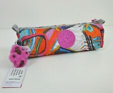 New Kipling Freedom Cosmetics Bag Pouch Pen Case Graphic Arts