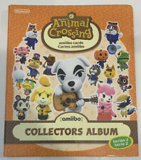 Animal Crossing Series 2 Amiibo Card Collector Binder Album New Horizons
