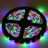 5M LED Strip Lights RGB3528 SMD 300LEDs Flexible Non-waterproof Home Car 12V