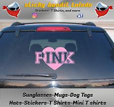 Victoria's Secret Pink 7 inch window vinyl decal sticker