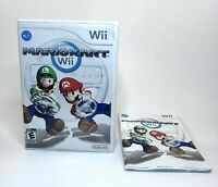 Mario Kart (Nintendo Wii, 2008) Case and Manual Only, NO GAME DISC - SHIPS FREE!