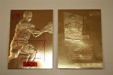 MICHAEL JORDAN 1997 FLEER ULTRA COURT MASTERS LIMITED EDITION 23KT GOLD CARD!
