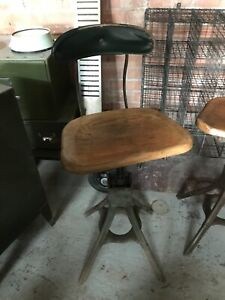 Vintage Industrial Evertaut Factory Machinist Engineers Chair