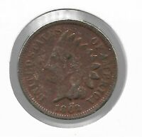 Rare Old Antique US 1862 Indian Head Penny Civil War Collection Coin USA Lot Y73