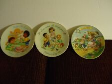 Three Avon Mini Collectors Plates 1991 and 1993