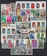 España 1963 año completo Yvert n° 1148 à 1207 neuf 1er elección