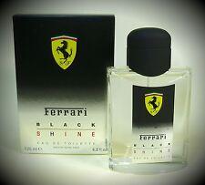 FERRARI FERRARI BLACK SHINE Uomo 125 ML EAU DE TOILETTE (EDT) SPRAY