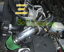 Black Green Cold Air Intake System Kit & Filter For 1997-00 Isuzu Hombre 4.3L V6