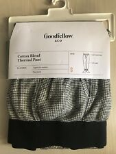 Mens Goodfellow & Co Cotton Blend Thermal Pants Heather Gray S
