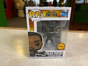 Funko POP! NIB Marvel The Black Panther Movie BLACK PANTHER MASKED CHASE #273