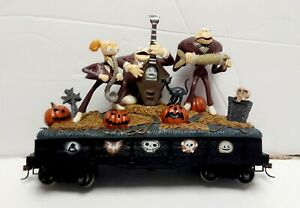 HAWTHORNE VILLAGE GHOULISH SOUNDS THE NIGHTMARE BEFORE CHRISTMAS EXPRESS ON30