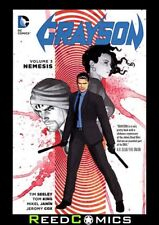 GRAYSON VOLUME 3 NEMESIS GRAPHIC NOVEL Paperback Collects #9-12 and Annual #2