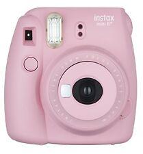Fujifilm Instax Mini 8+ (Strawberry) Instant Film Camera + Self Shot Mirror f...