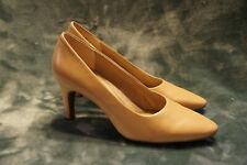 Aeresoles Tan Leather High Heel Pumps Size 8 M