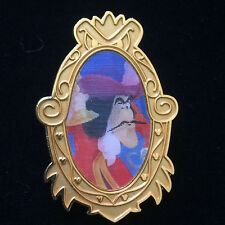 Disney Villain Lenticular Captain Hook Framed Portrait Pin