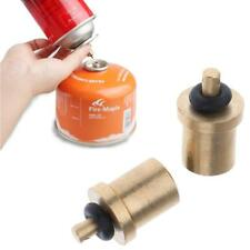 2pcs Camping Stove Gas Refill Adapter - Cylinder Filling Butane Canister