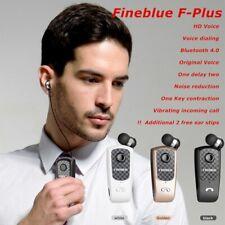 FineBlue F-plus Wireless Bluetooth Headset business Earphone Retractable Vibrate