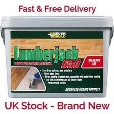 Everbuild Lumberjack 650 Polymer Wood Flooring Adhesive Glue 14kg Tub