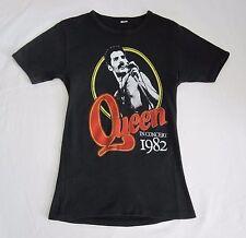 QUEEN  :  Vintage 1982 'Hot Space' UK Concert Women's T-Shirt - Freddie Mercury