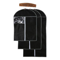 Dress Clothes Coat Garment Suit Cover Bag Dustproof Storage Bags Protector S/M/L