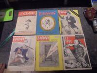 Magazine LE CHARIVARI 1961 63 & LE CLOU N°1 1945 Caricature Satirique Politique