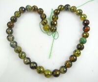 """Wholesale Dragon Veins Agate  Round Jewelry Making Gem Loose beads 10mm 15 """""""