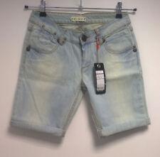 Ichi vaqueros señora-shorts azul claro talla w28 (s) nuevo con etiqueta