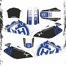 HUSQVARNA TE TC 250 450 2002 2004 GRAPHICS KIT (thick version)