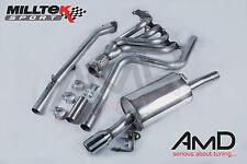 Fiesta ST150 Milltek Exhaust Manifold  Decat Pipe &  Non Resonated Cat Back