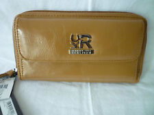 Kenneth Cole Reaction Urban Organizer Clutch - tan - NEW!!!