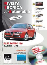 Manuale tecnico per la riparazione e la manutenzione dell'auto- ALFA ROMEO 159