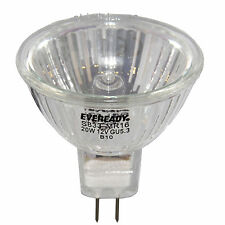 20 x MR16 20w EVEREADY Halogen Light Bulbs 12v
