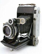 KMZ Mockba 5 / Moskva 5 vintage rangefinder folding camera, Russian Super Ikonta