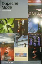 Depeche Mode Remastered Expanded CD & DVD Speak and Spell Ultra promo poster New