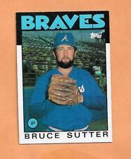 BRUCE SUTTER BRAVES TOPPS 1986 CARD # 620